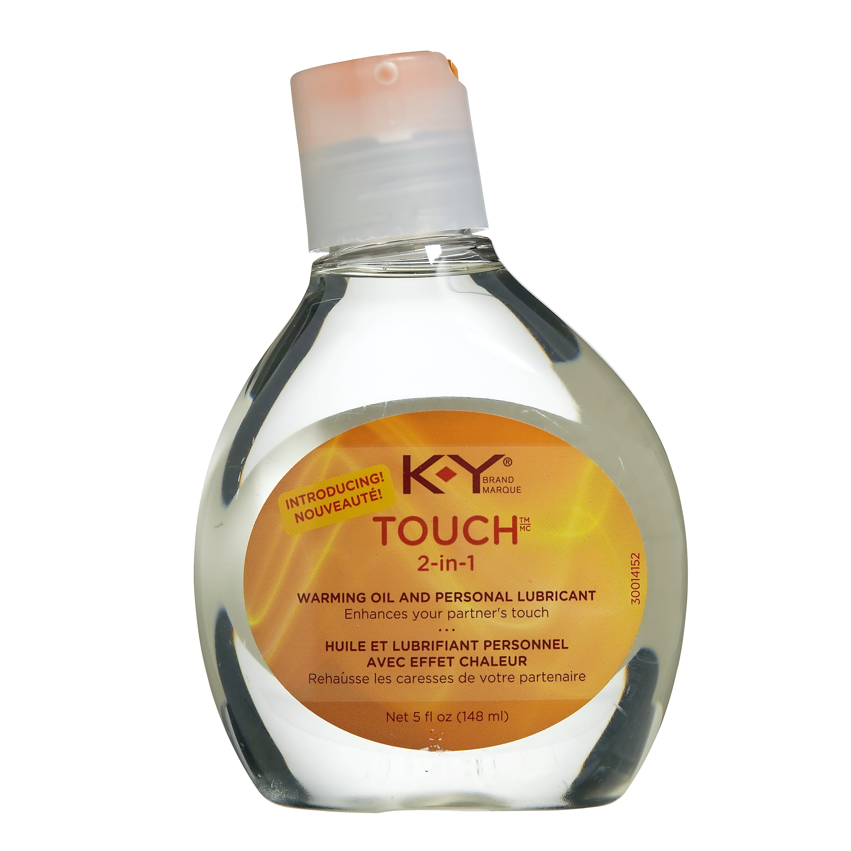 K-Y Touch 2 in 1 Warming Oil and Personal Lubricant 148 mL